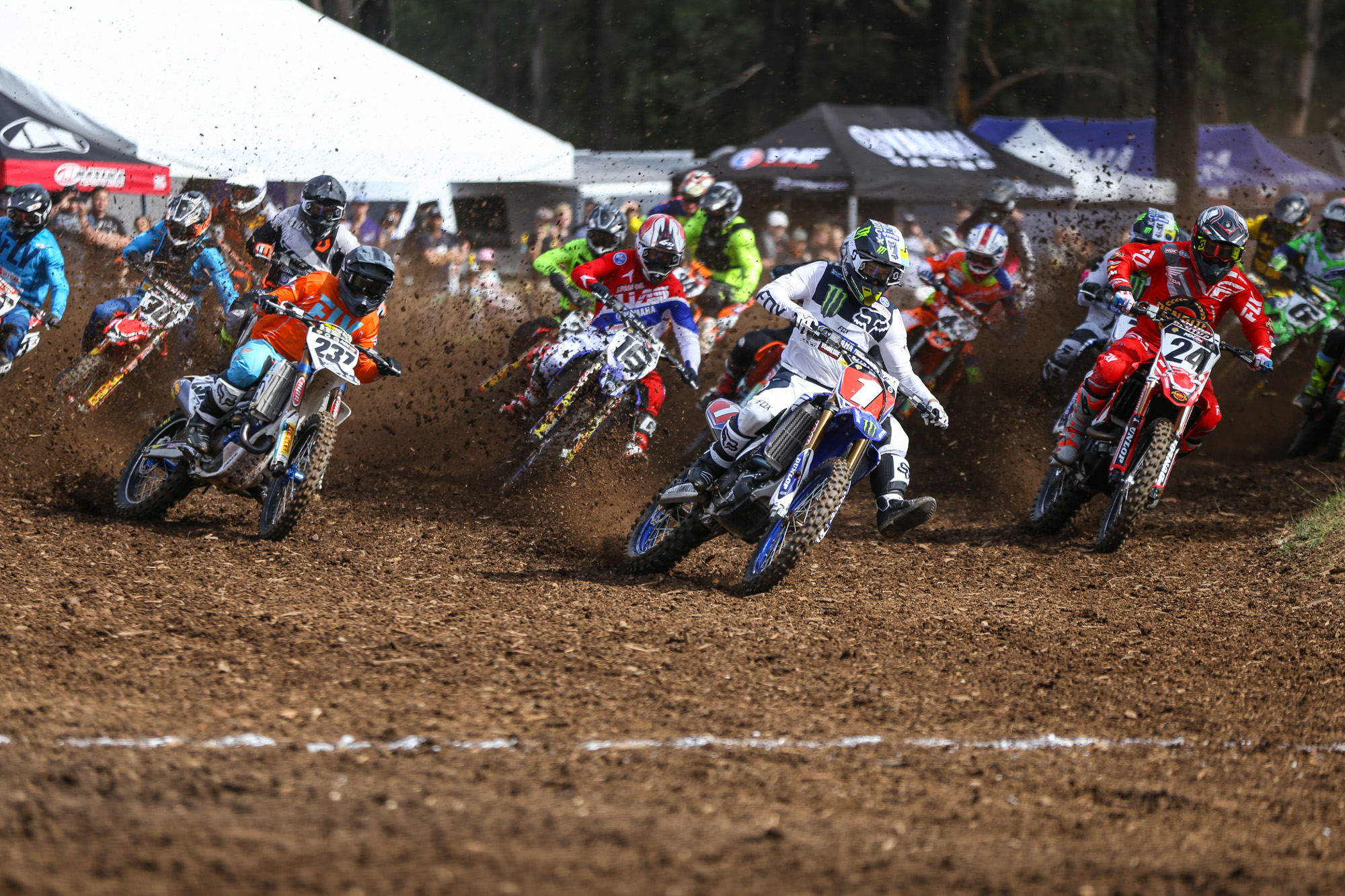 MX Nationals Round 2 Appin - MX1 Start