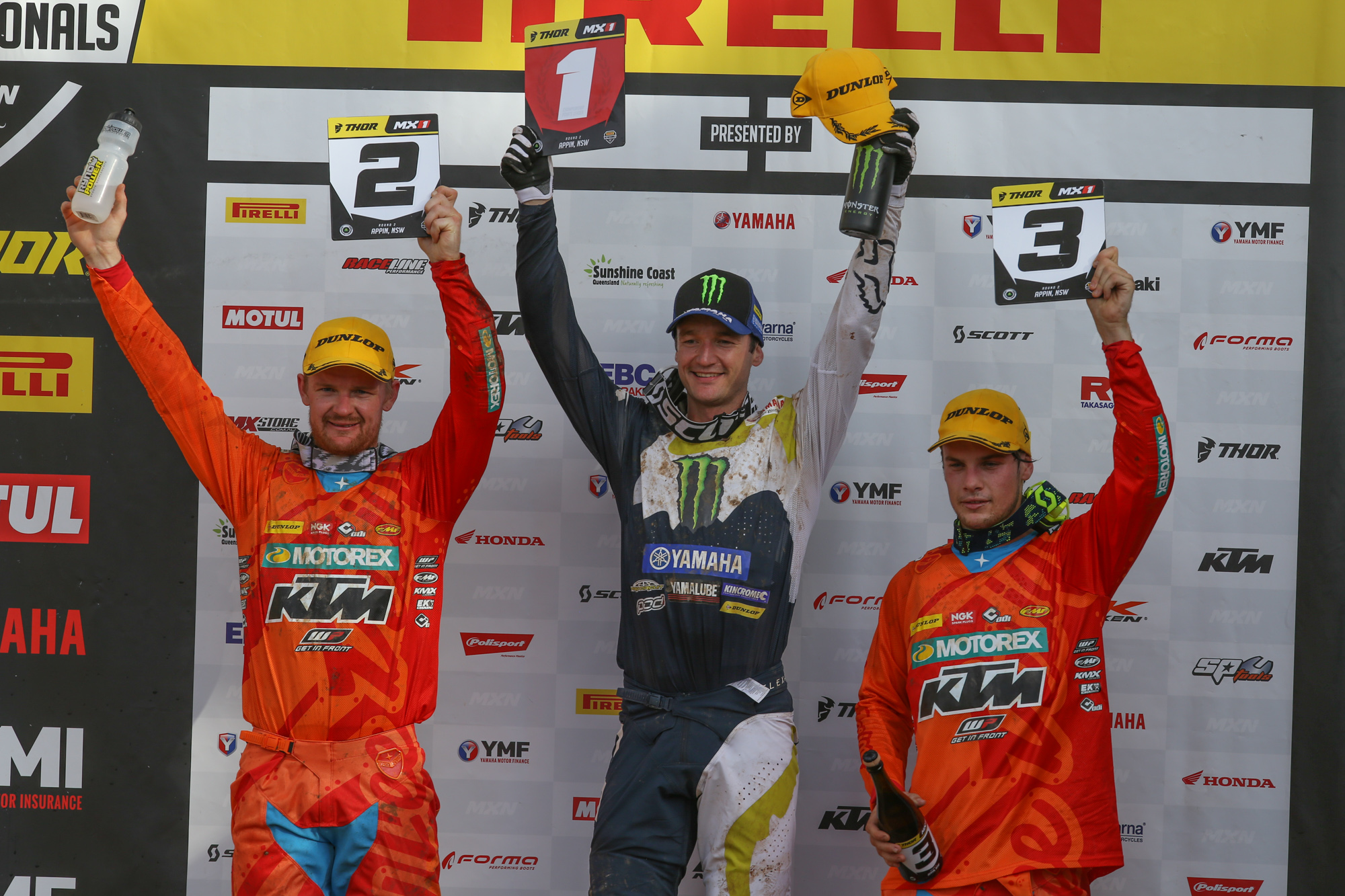 Dean Ferris dominated MX Nationals Round 2 at Appin
