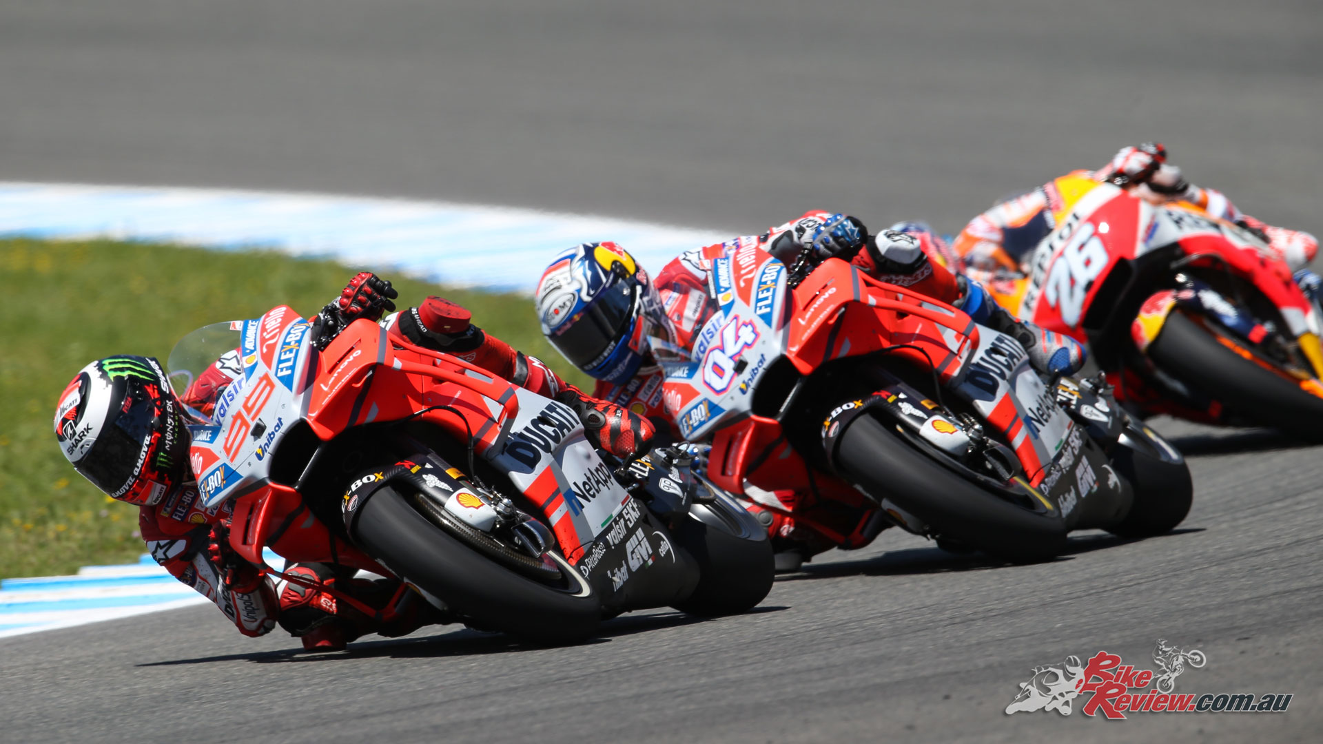 It was a rough weekend for Lorenzo, Dovizioso and Pedrosa, all crashing out in one fel swoop