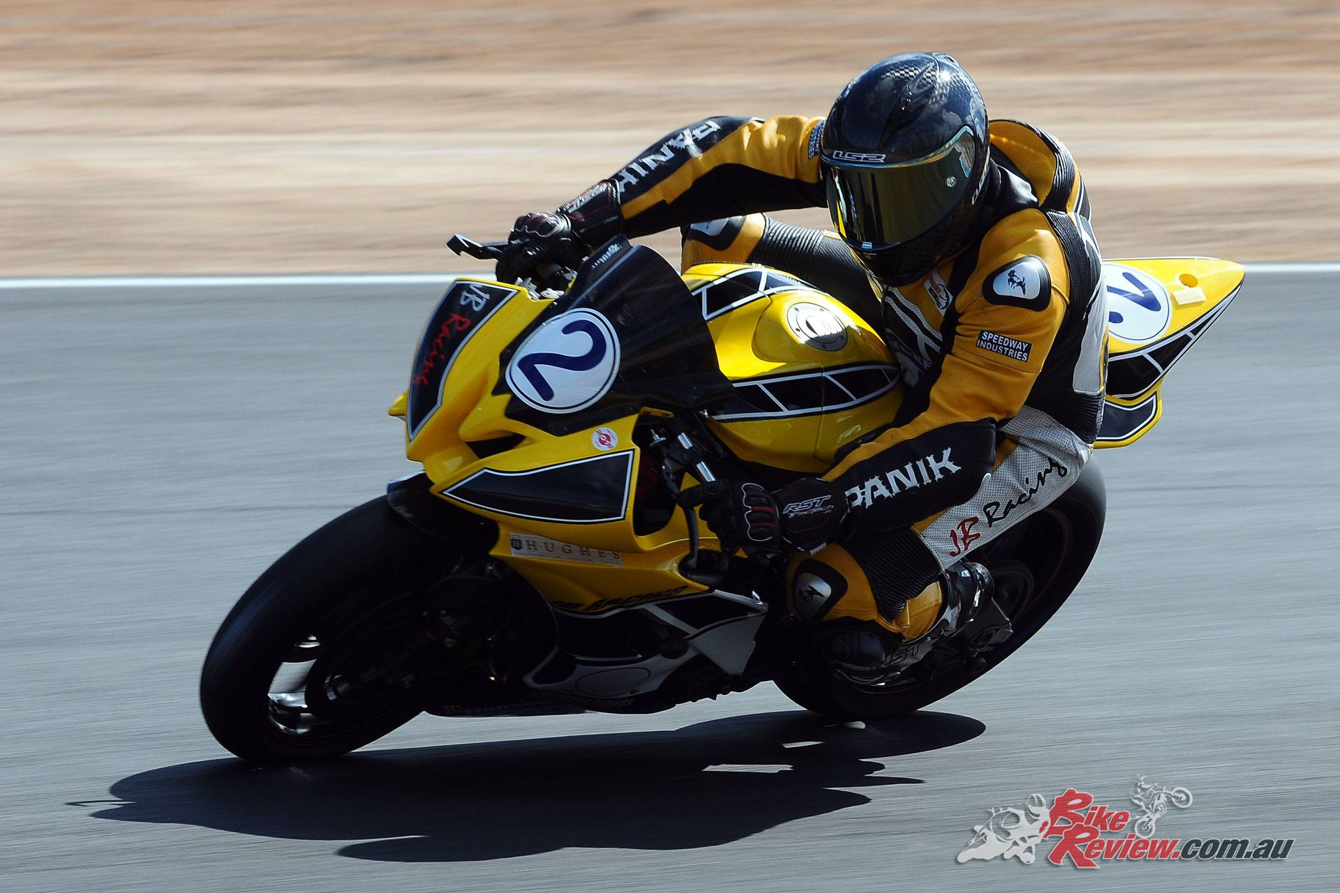 Leigh Boujos and brother Tim shared the Supersport wins