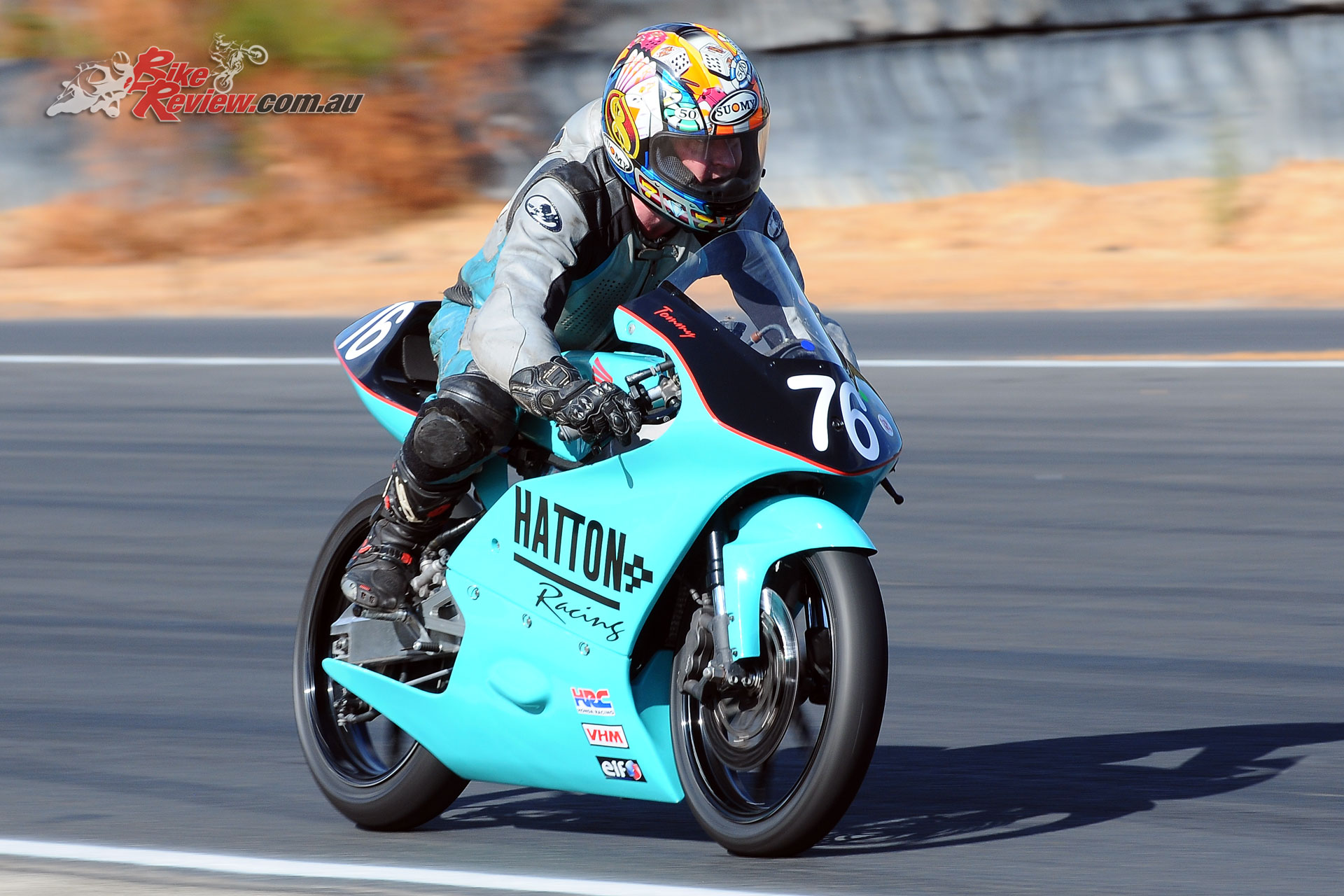 Tom Hatton won the 125GP with two race wins