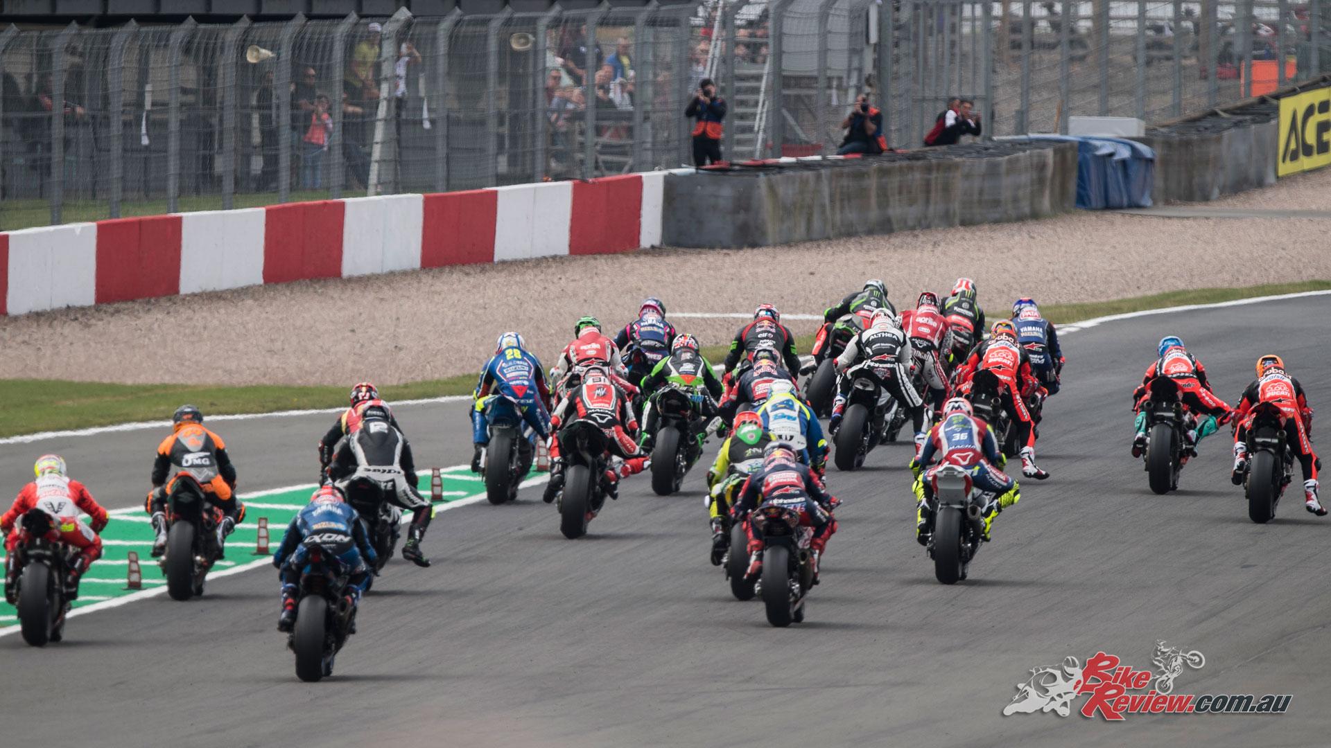 World Superbikes at Donington
