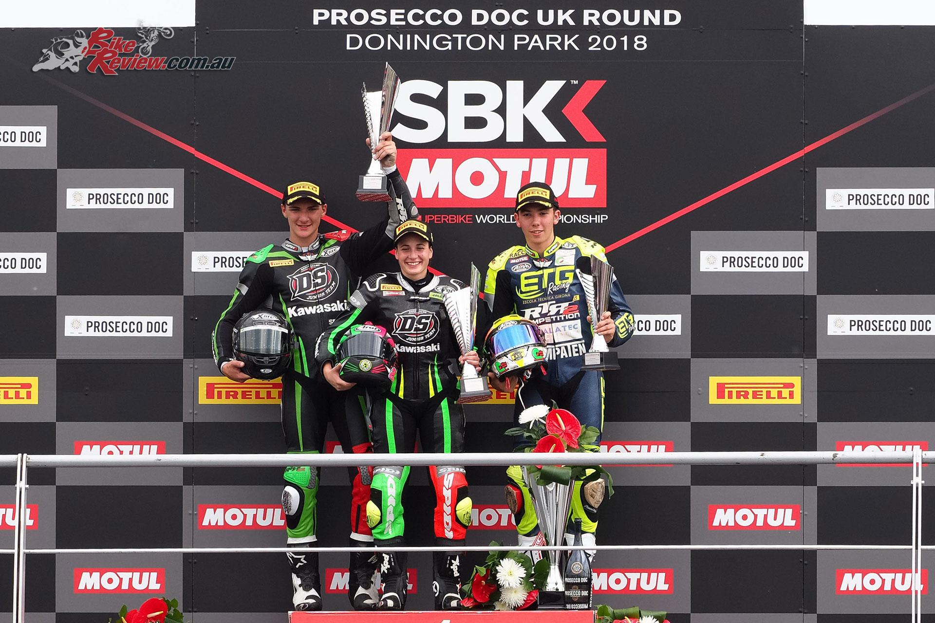 World Supersport 300 - Donington 2018 - Race