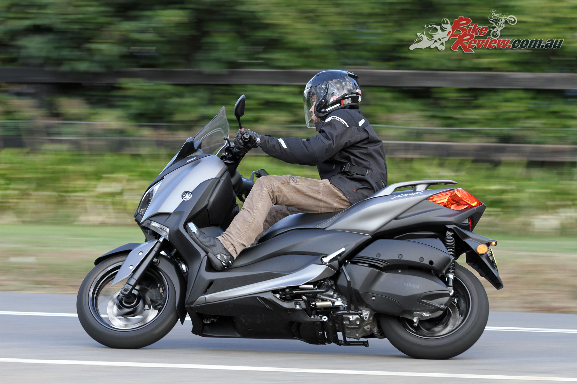 The XMax is a capable all-rounder, in fact I'd be happy comparing it to all the motorcycles in a similar capacity range.