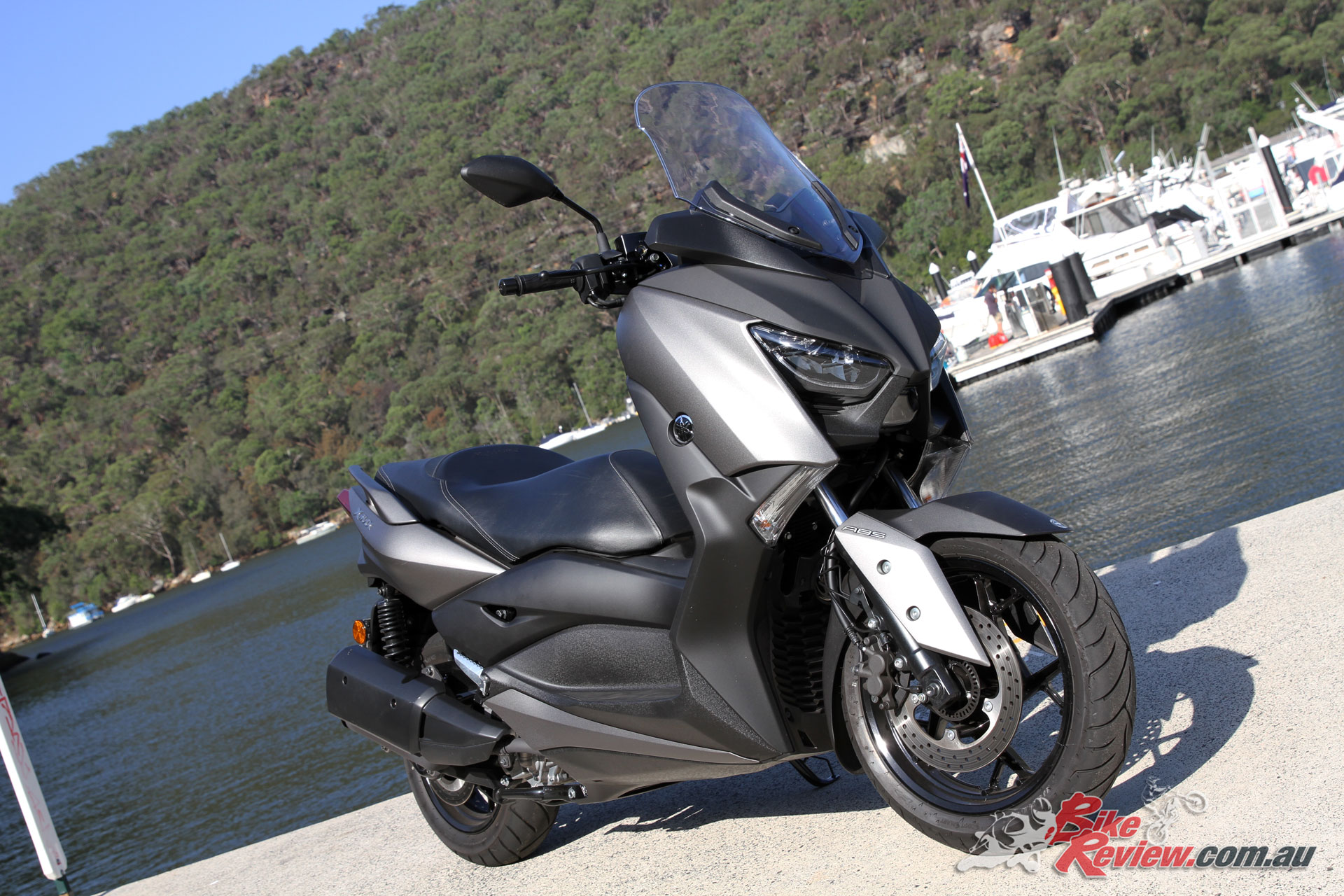 The Yamaha XMax 300 looks pretty cool in my opinion