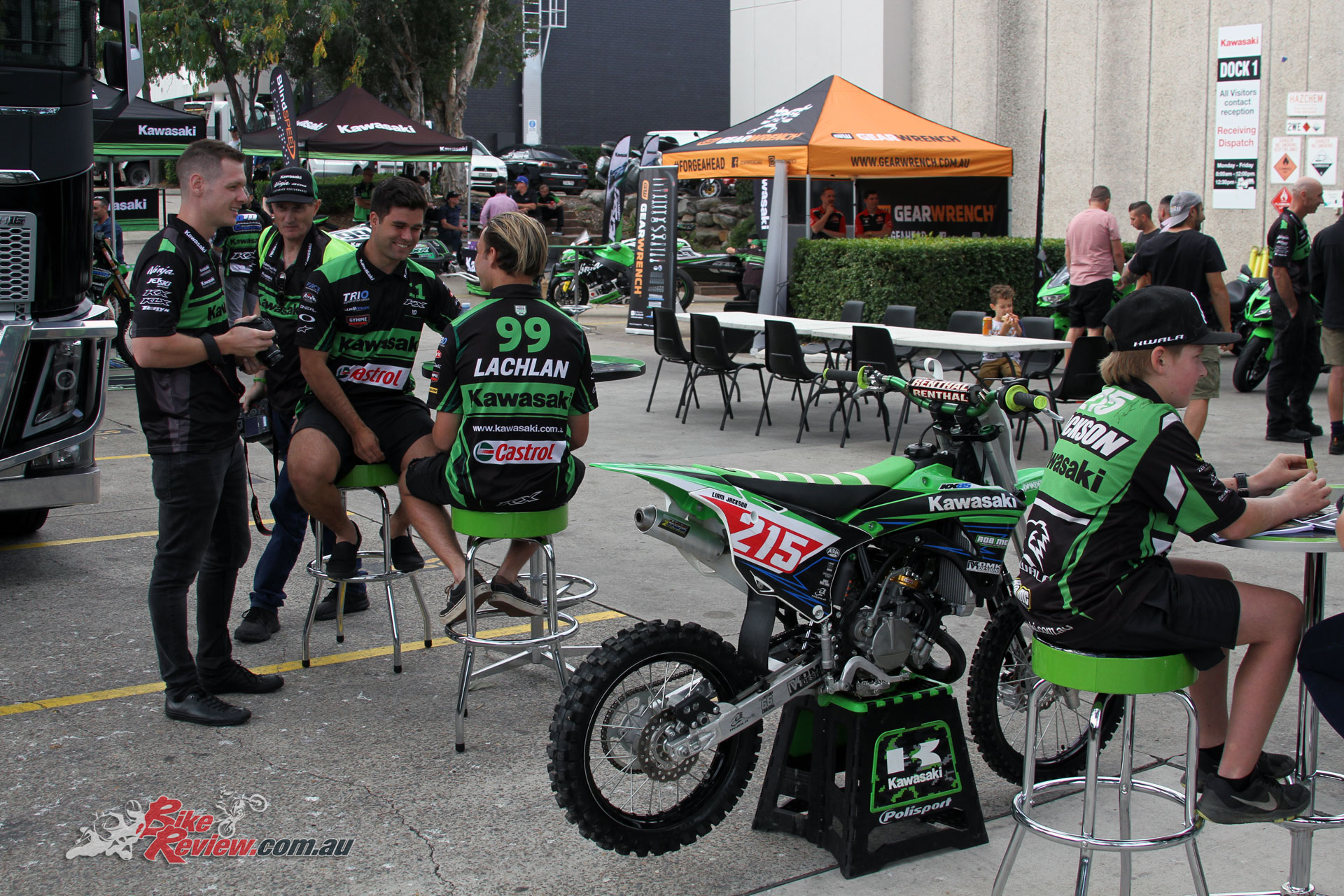 The Kawasaki supported rider meet was held at their Sydney HQ