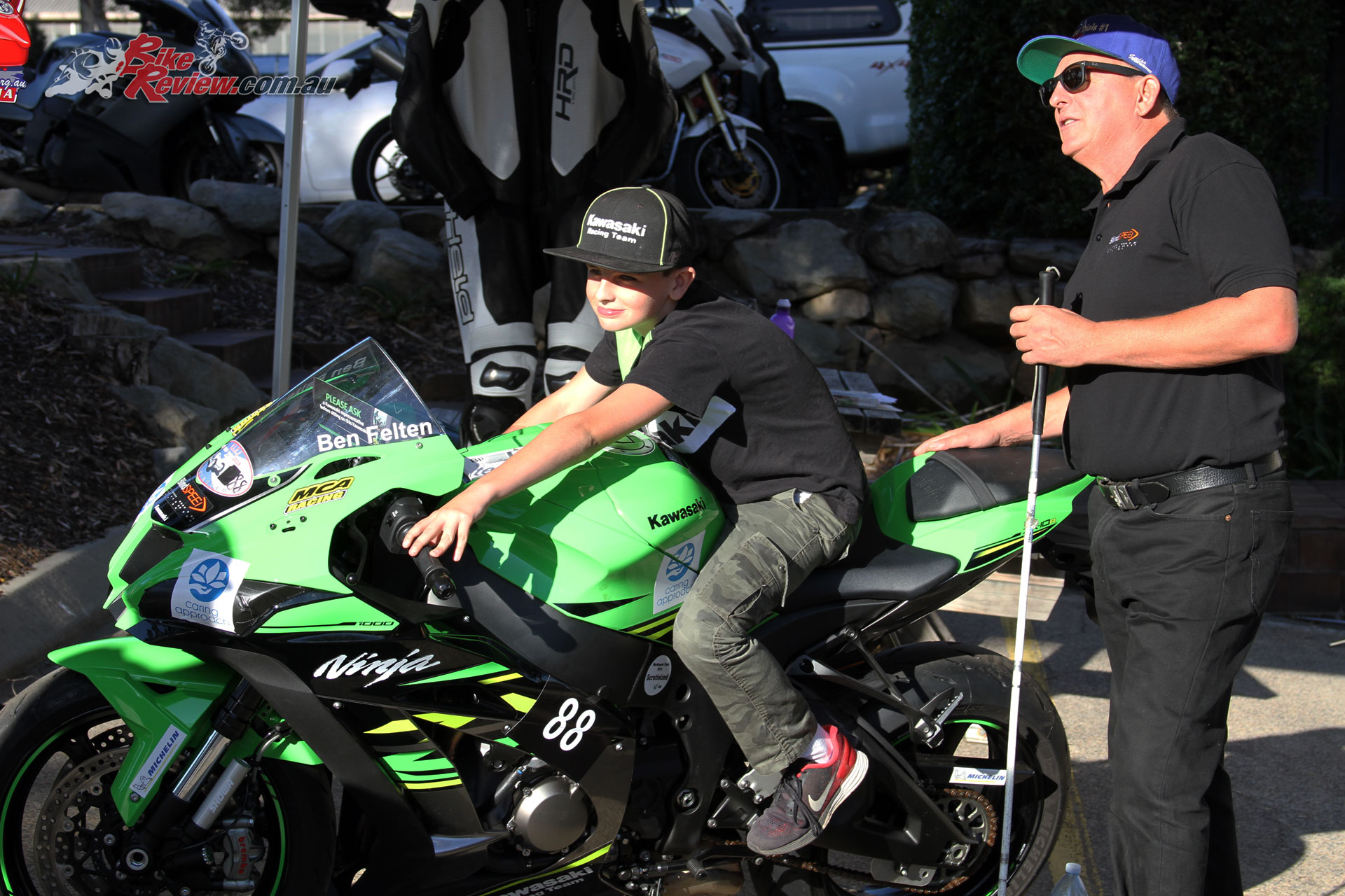 Ben Felten and his ZX-10R