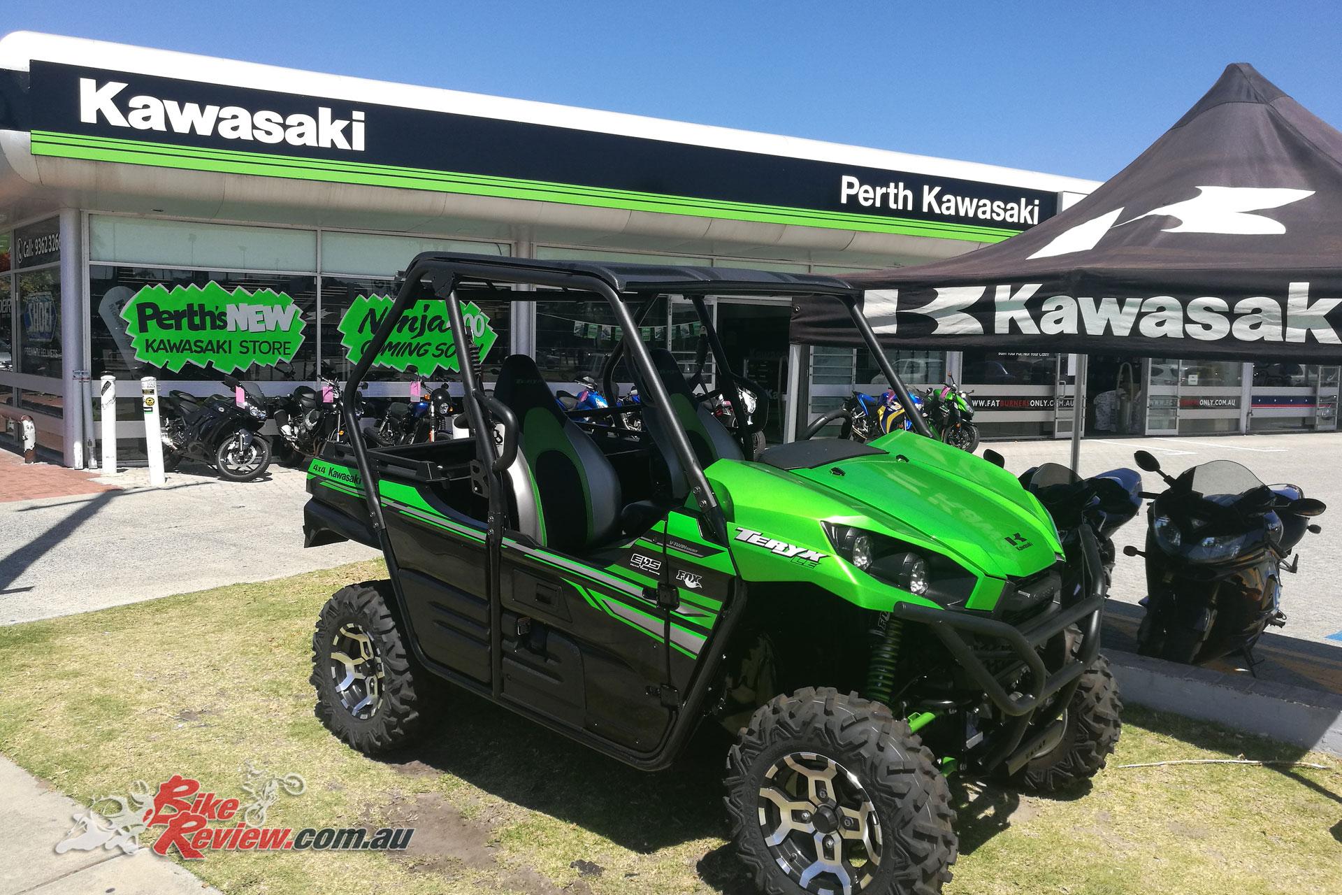 Perth Kawasaki - New Western Australian Dealership - Bike Review