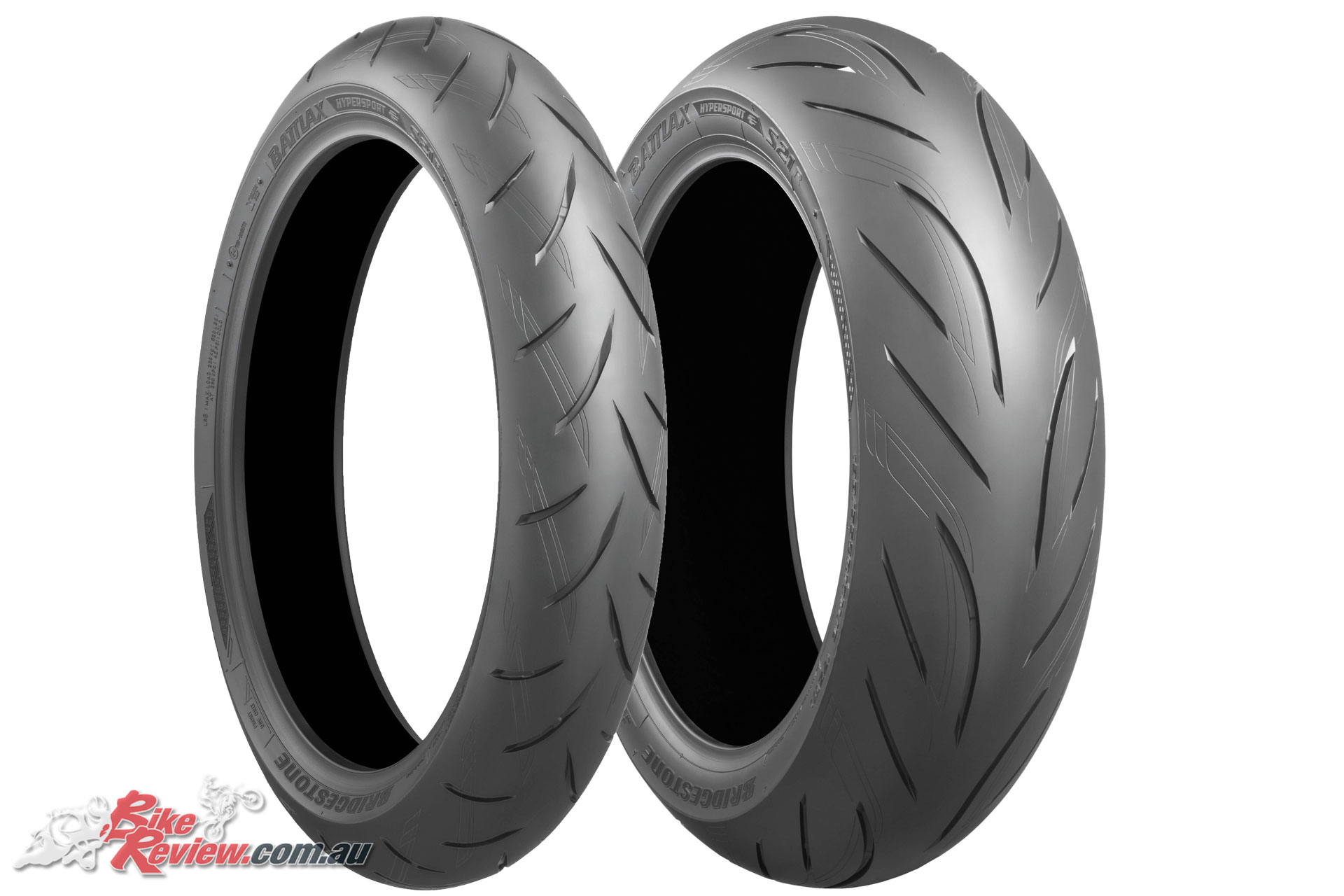 The Bridgestone Battlax S21 front and rear are available in 10 sizes, four front, six rear, see below for the chart and pricing