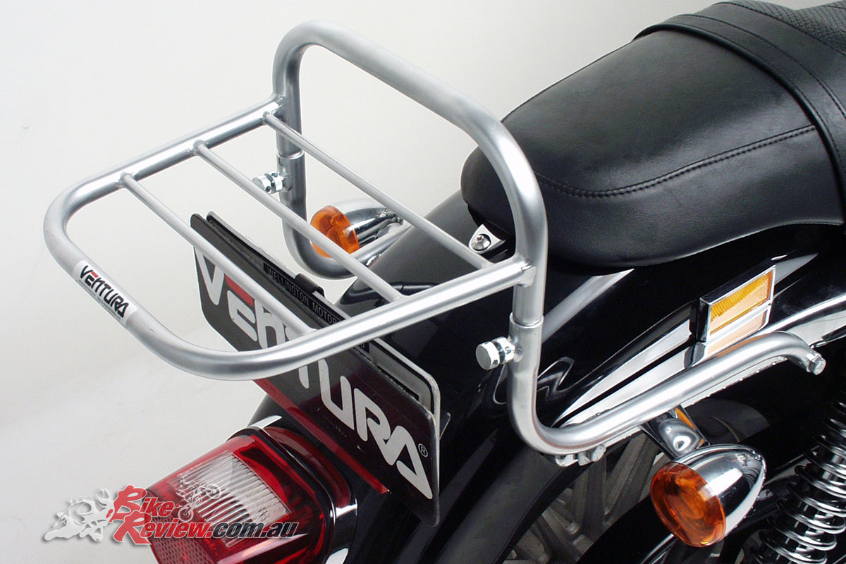 Ventura luggage solutions now available for the Harley-Davidson Sportster 883 & 1200 range 2004-onwards