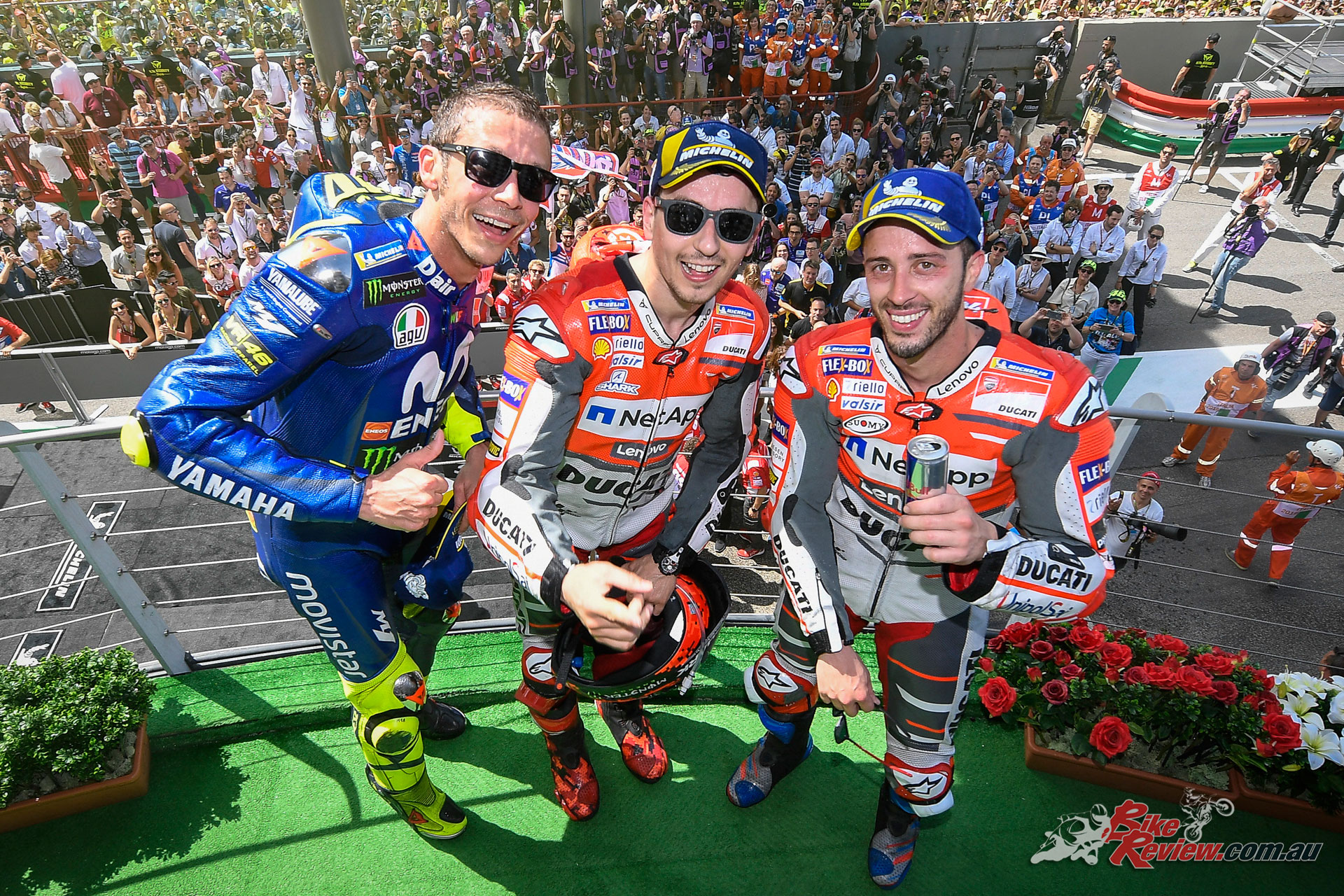 MotoGP Mugello Podium