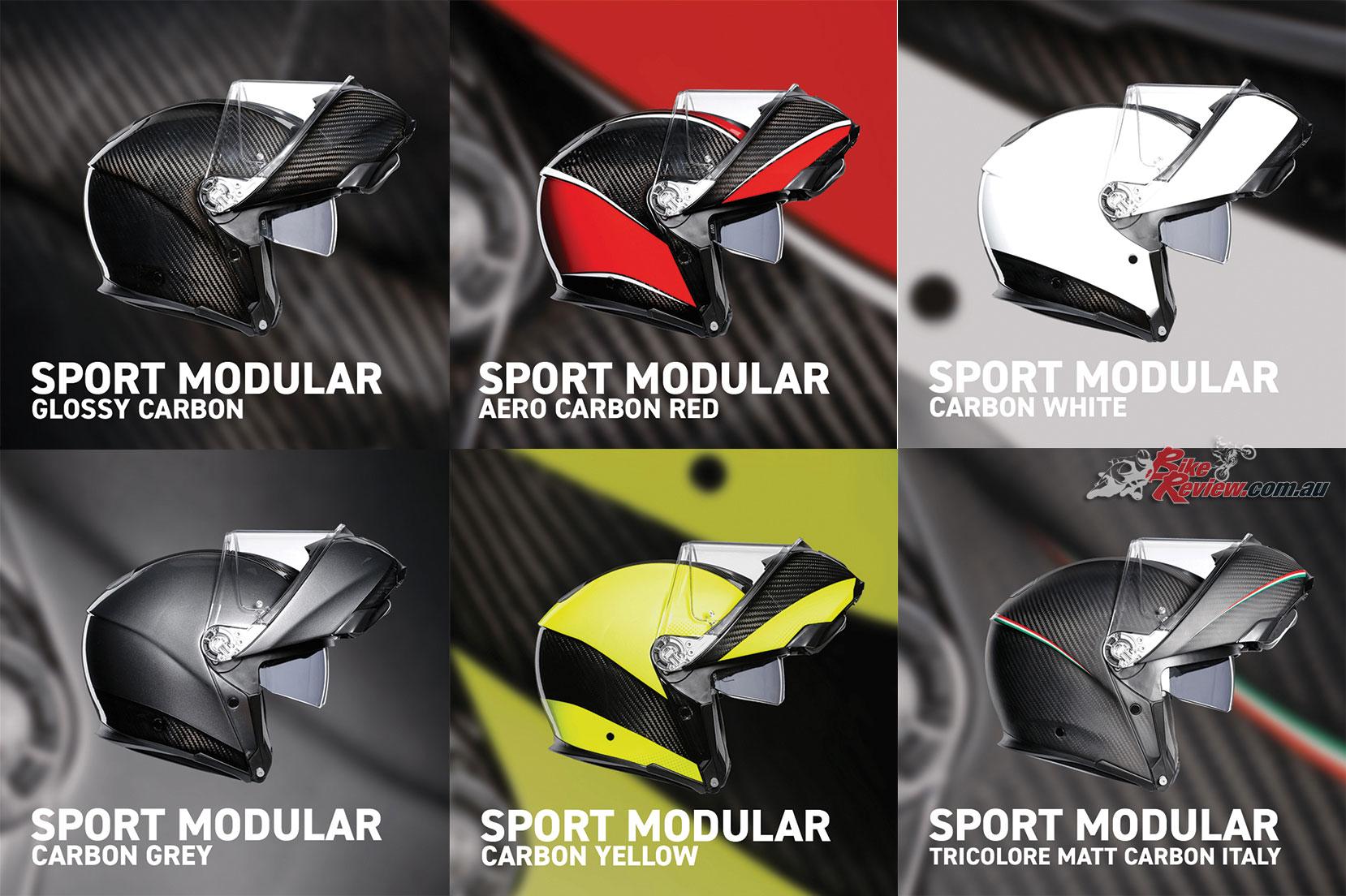 The AGV Sportmodular range