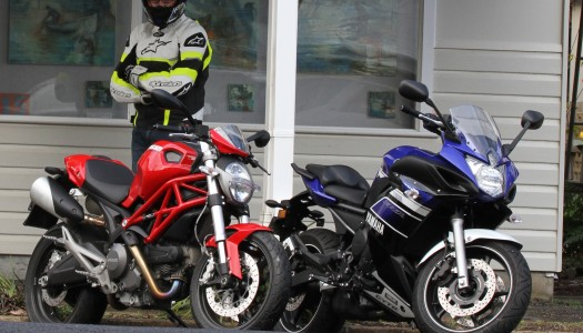 Review: 2013 Ducati Monster 659 & Yamaha FZ6R Comparo