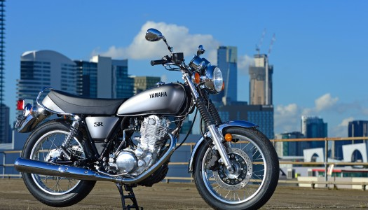 Review: 2014 Yamaha SR400 Australian Launch
