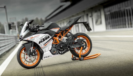 KTM supports Swann SuperSport 400 RC 390 competitors
