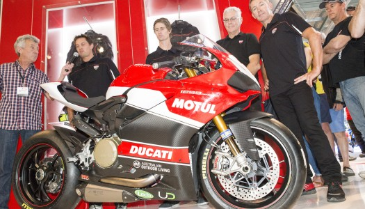 Troy Bayliss launches Ducati Superbike Team