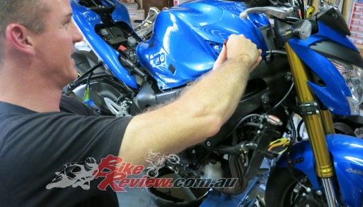 Staff Bike: Jeff's Suzuki GSX-S1000 Minor Service