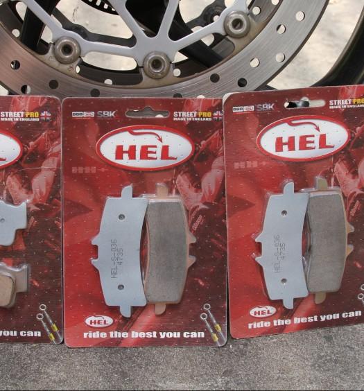Hel Brade Pads Bike Review