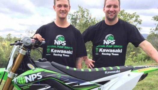 Kade Mosig and Jake Moss Round out the NPS Monster Energy Kawasaki Racing Team