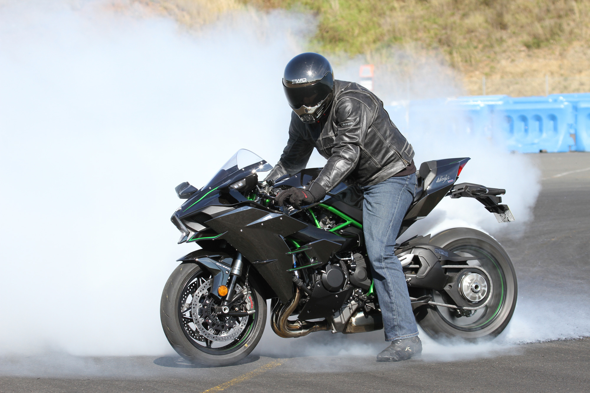 Review 2016 Kawasaki Ninja H2 Street Track Drags