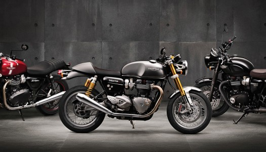 Triumph's New Thruxton R to preview at Island Classic!