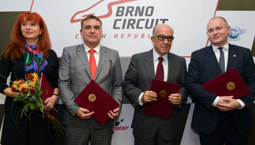 Dorna signs deal with Brno until 2020