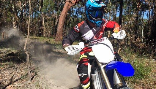 Graham and Keegan form Yamaha Off-Road assault