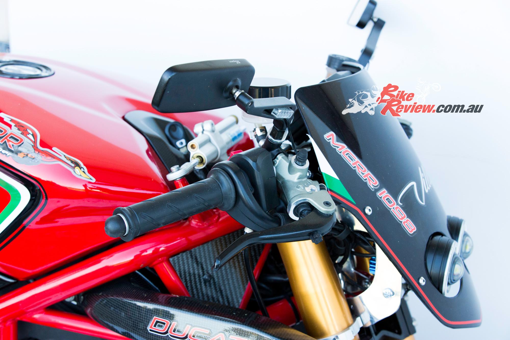 Custom: 1098 MC RR Ducati Fighter - Bike Review