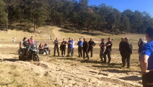 BMW Motorrad off-road training, ready for 2016