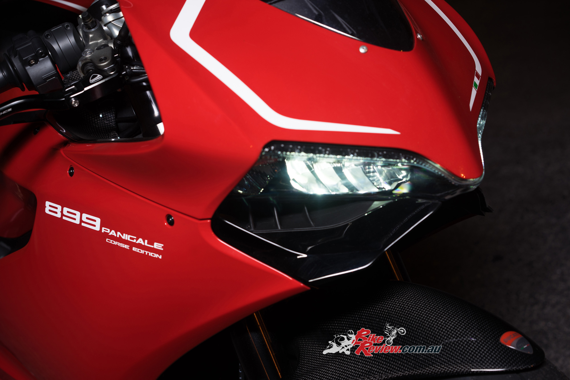 Custom Ducati 899 Panigale Corse Edition Bike Review