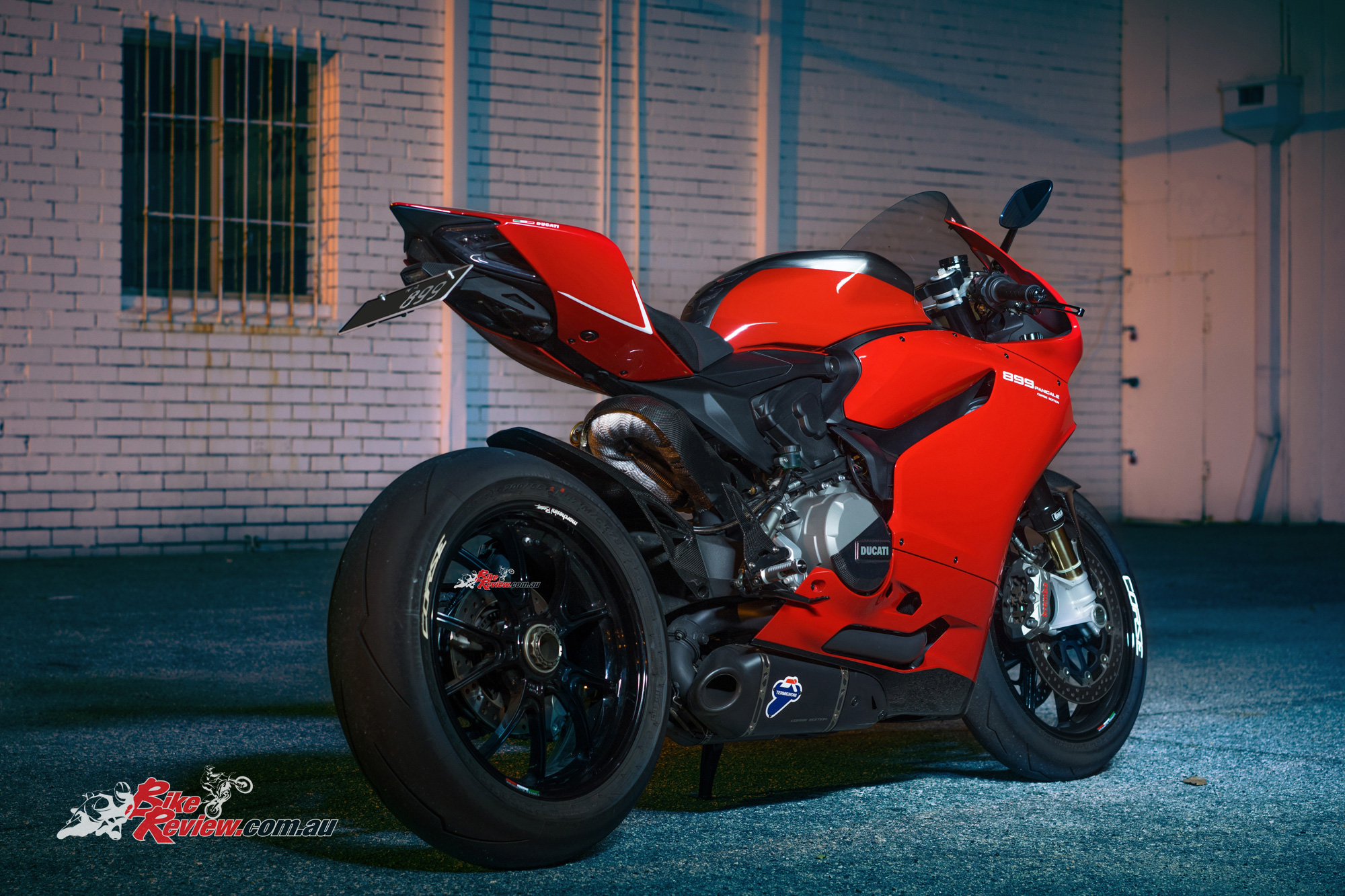 Ducati Panigale Gold Wheels