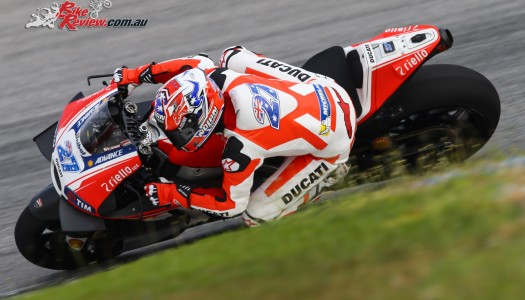 Ducati Team concludes IRTA tests at Sepang