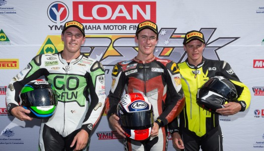 Guenther takes first ASBK Motul Supersport spoils
