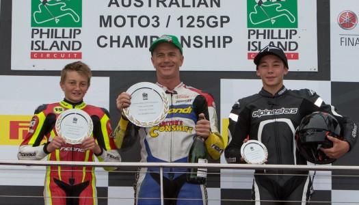 Houghton secures Moto3 Honours, Taylor Impresses