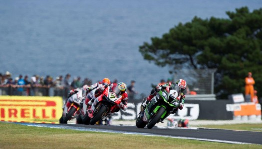 Rea starts title defence in dominating fashion