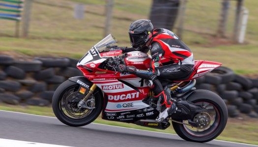 Jones on the gas in second ASBK free practice