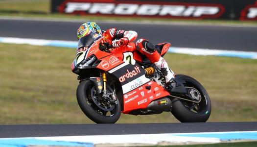 Second for Aruba.it Racing – Ducati in Race 1, Phillip Island