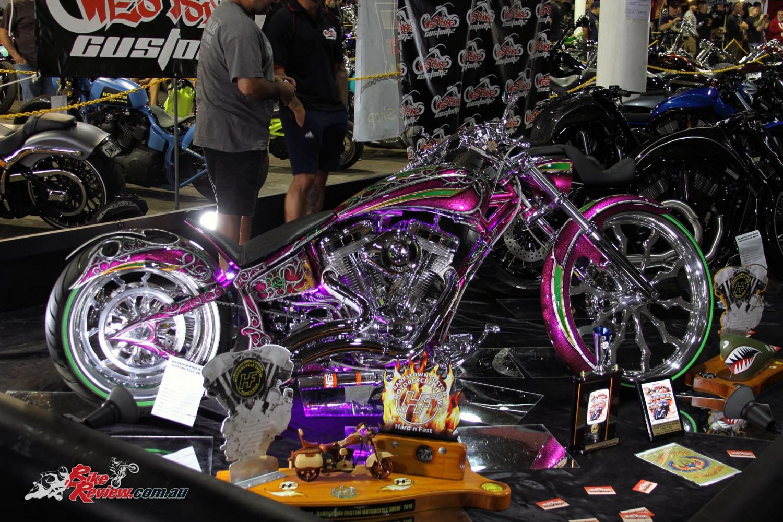 2011 Custom Chrome International European Bike Show Photos ... |Custom Motorcycle Show Models