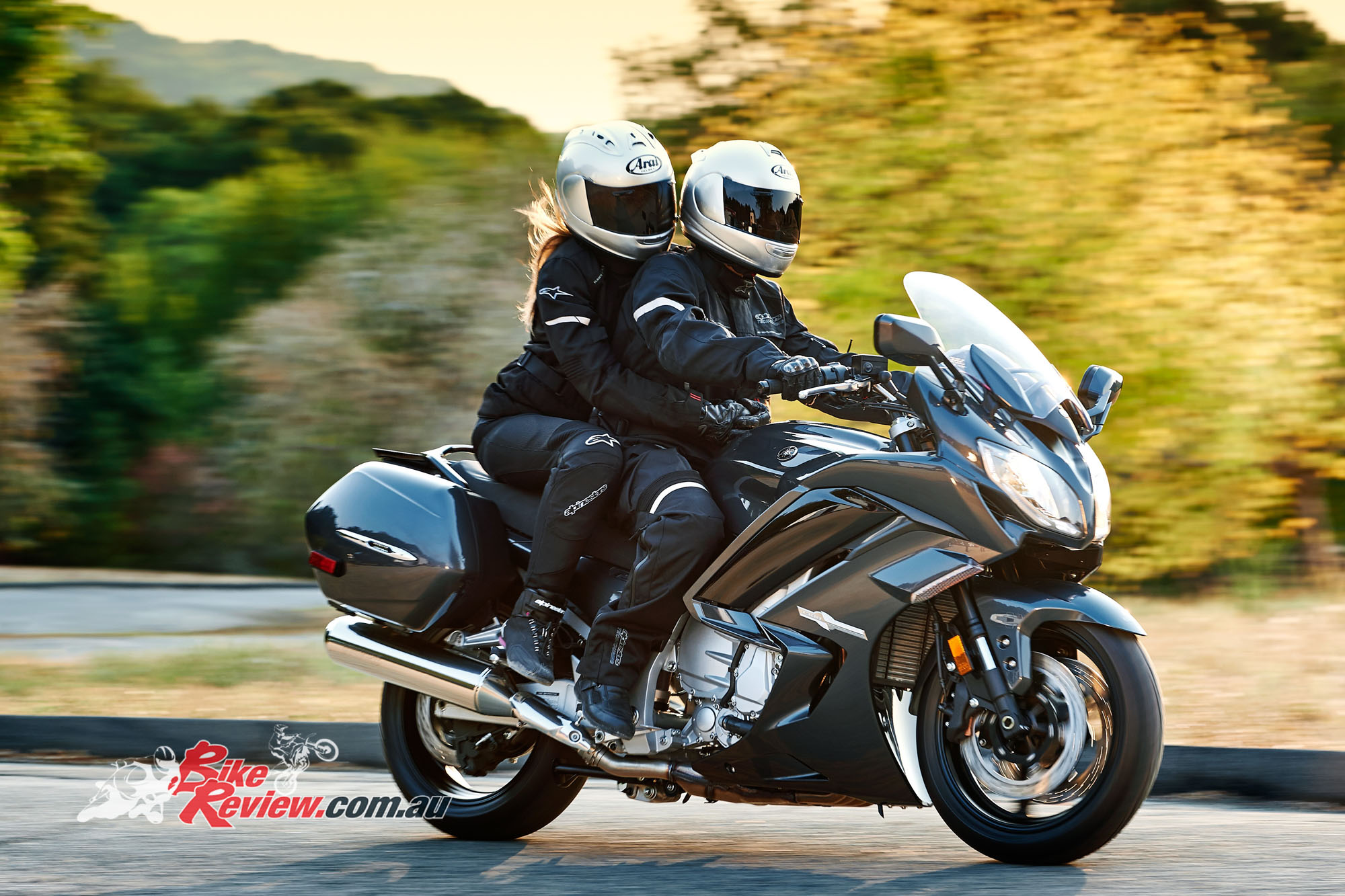 Yamaha Fjr1300 Road Test on yamaha drive
