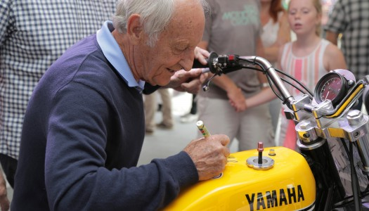 Yamaha legends Gall and Carruthers inducted into motorsport hall of fame
