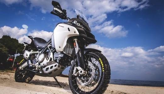 Pirelli Scorpion Rally, king of the desert, on the new Ducati Multistrada Enduro