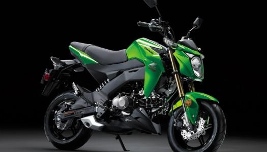 2017 Kawasaki Z125 PRO Hits Stores