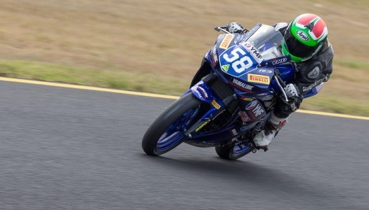 Alderson undefeated in the YMF R3 Cup at Round 3 of the ASBK