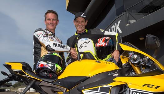 Australian Yamaha Motorcycling Legends Gall and Martin unite at ASBK