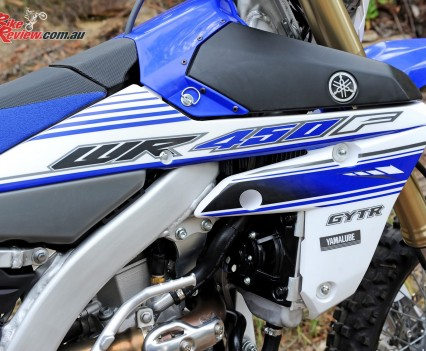 Bike Review 2016 Yamaha WR450F Details (2)