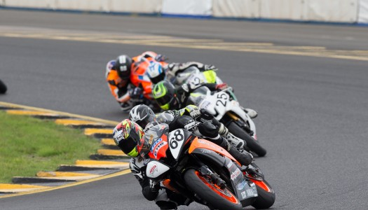 Levy wraps up Round 3 of the ASBK with Motul Supersport victory