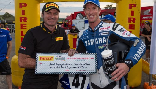 Maxwell and Olivier take Pirelli Superpole Awards at Round 3 of the ASBK