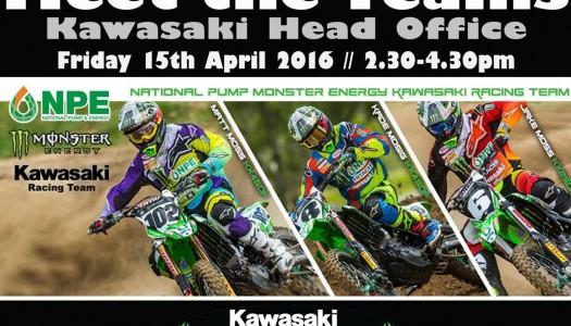 Meet the National Pump Monster Energy Kawasaki Racing Team
