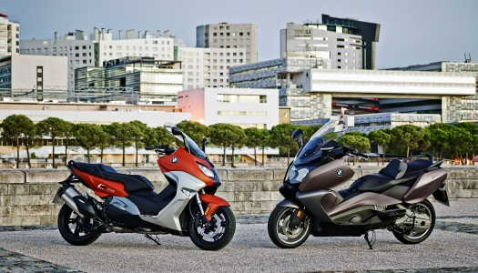 New BMW C 650 Sport and C 650 GT maxi scooters