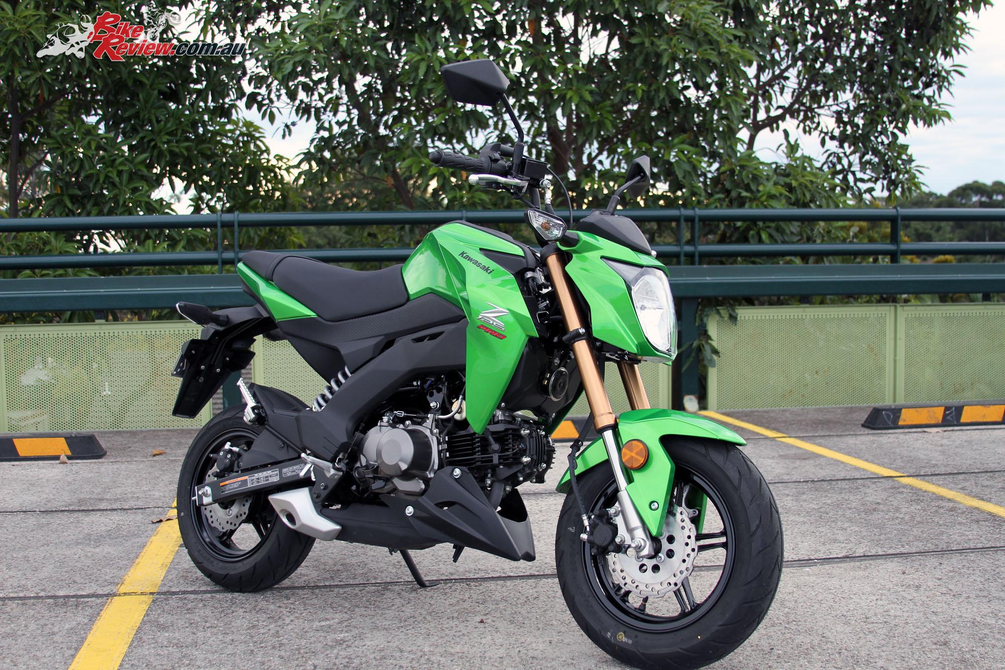 Review 2017 Kawasaki Z125 Pro Bike Review